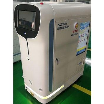 Walking Robot vending machine