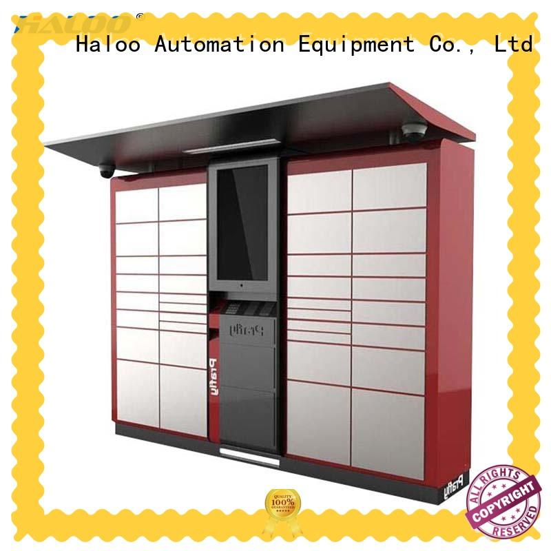 Haloo smart remote management robot vending machine design for lucky box gift