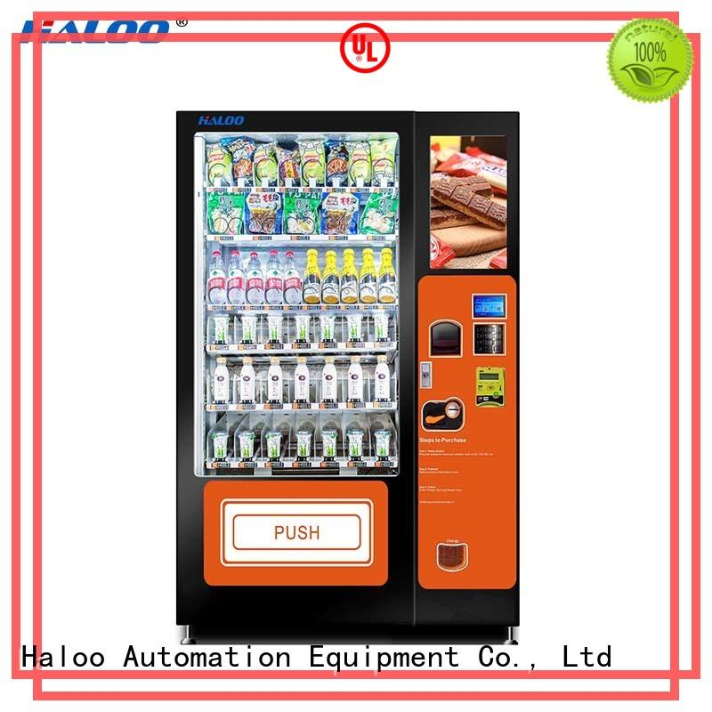 Haloo water vending machine design for drinks