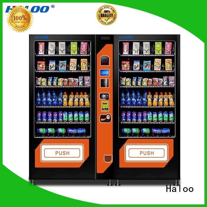 Haloo soda snack vending manufacturer for food