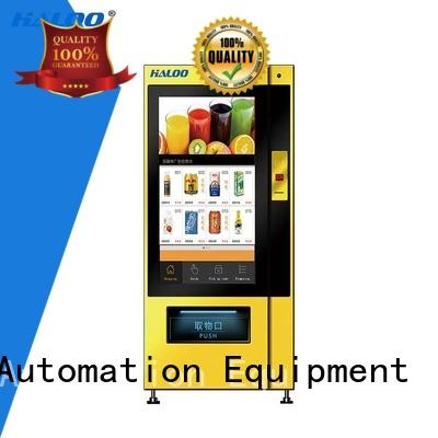 Haloo vending machine price wholesale for shopping mall
