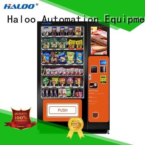 Haloo intelligent drink vending machine wholesale