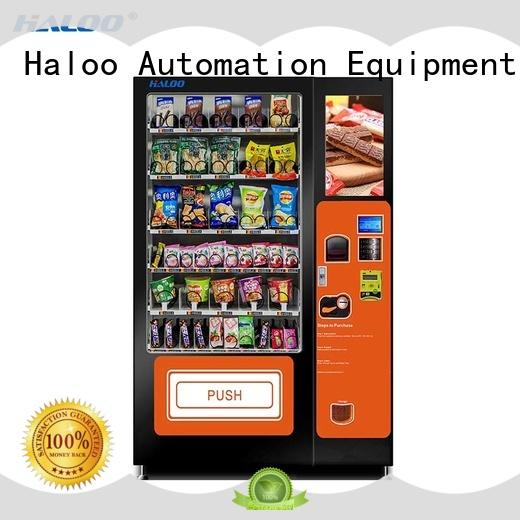 Haloo cost-effective medicine vending machine design for shopping mall
