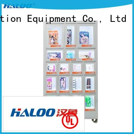Haloo food vending machines supplier for drinks