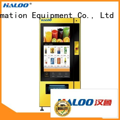 Haloo smart drink vending machine series for shopping mall