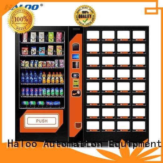 Haloo cold drink vending machine wholesale for snack