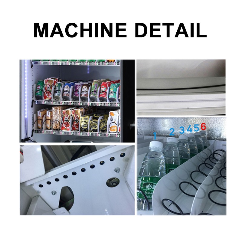 Haloo combo vending machines with good price for drink-3