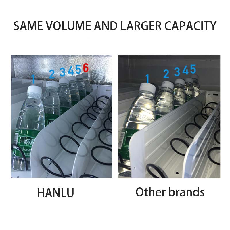 Haloo high capacity soda snack vending design for drink-7