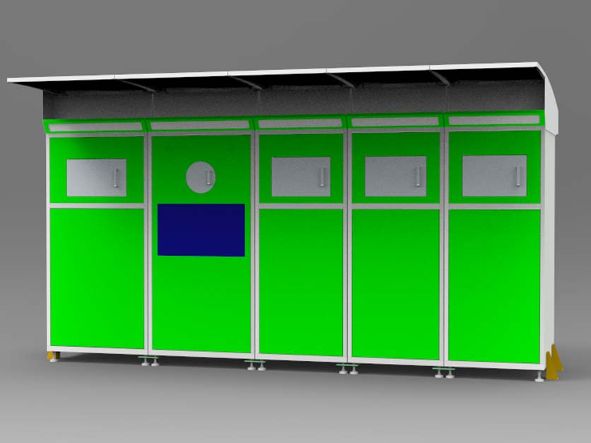 vending kiosk customized for garbage cycling-4