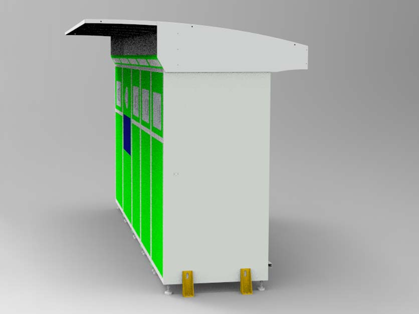 vending kiosk customized for garbage cycling-5