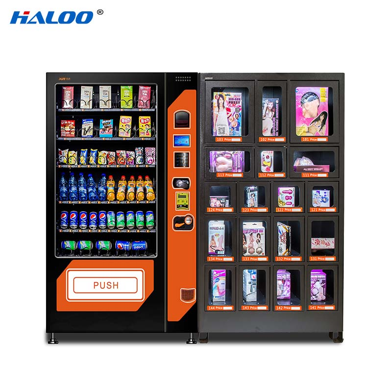 Haloo automatic condom vending machine directly sale for pleasure-2