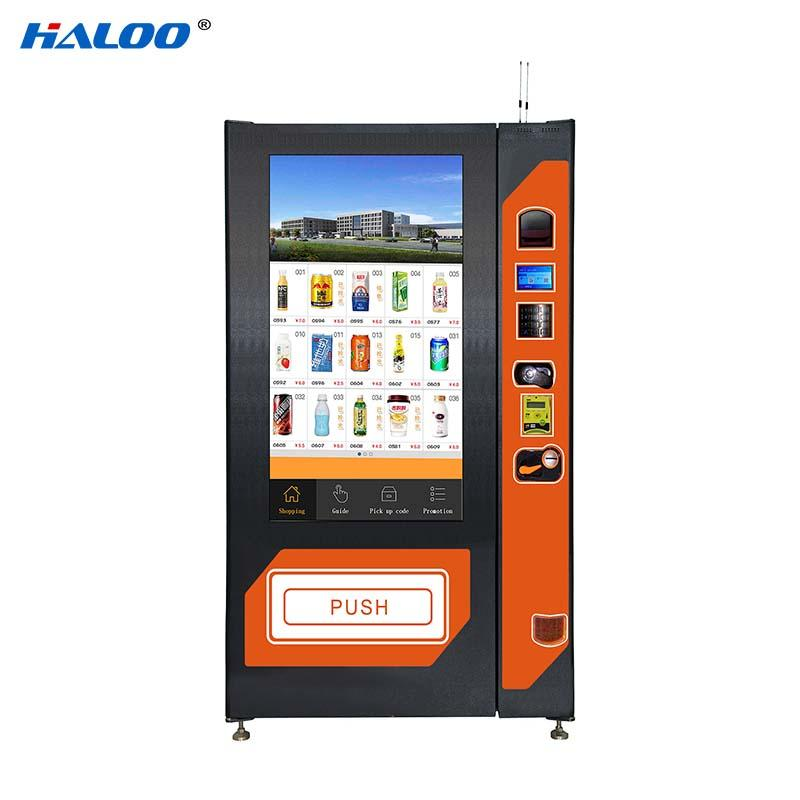 intelligent snack vending machine design for shopping mall