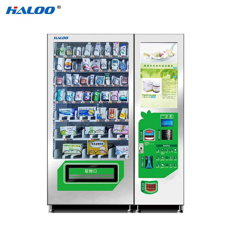 HL-DLY-10C drug automatic vending machine with 21.5inches touchscreen