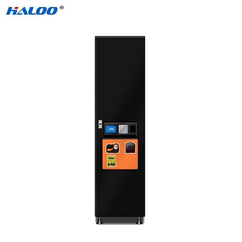 HL-KRE-1A snack drink automatic vending machine with 32inches touchscreen