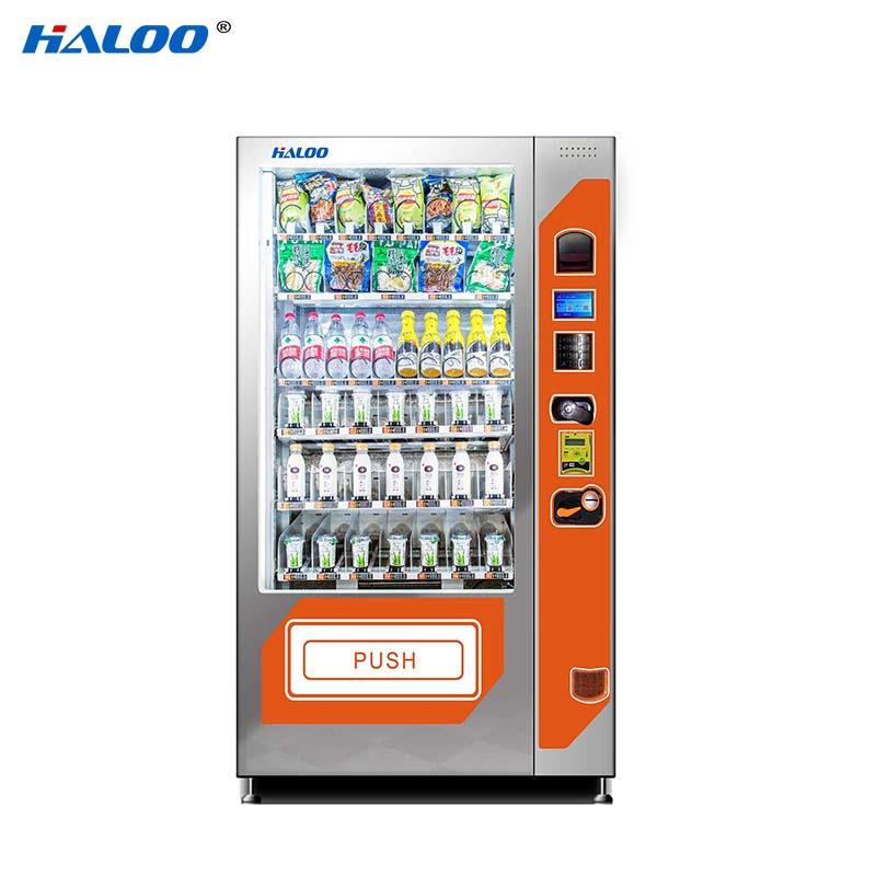 HL-DRE-10C automatic cooling drink milk snack automatic vending machine