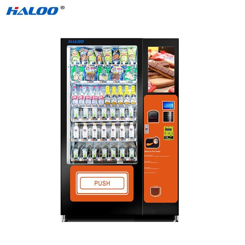 HL-DRE-10C belt delivery cooling drink milk snack automatic vending machine