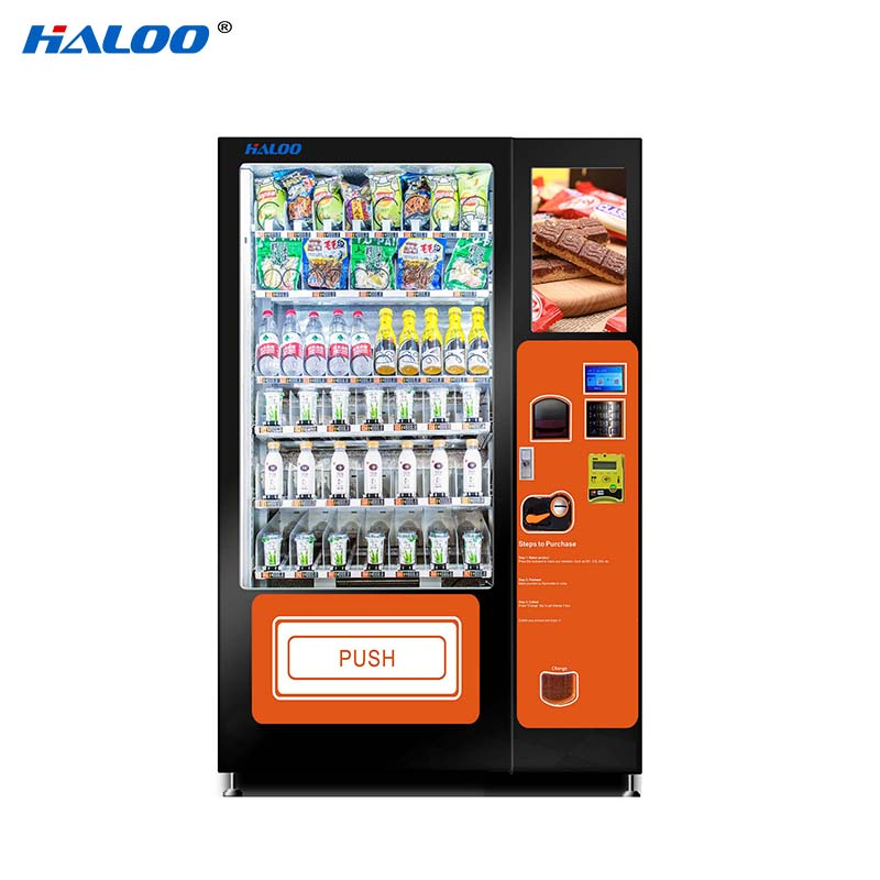 Haloo convenient canteen vending design for drinks-1