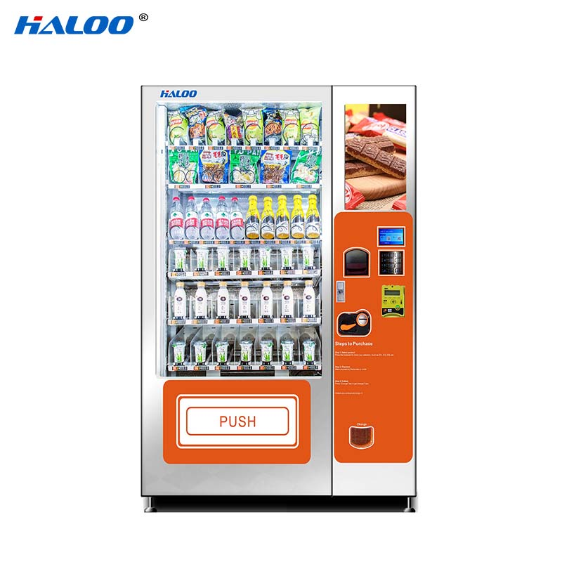 Haloo convenient canteen vending design for drinks-2