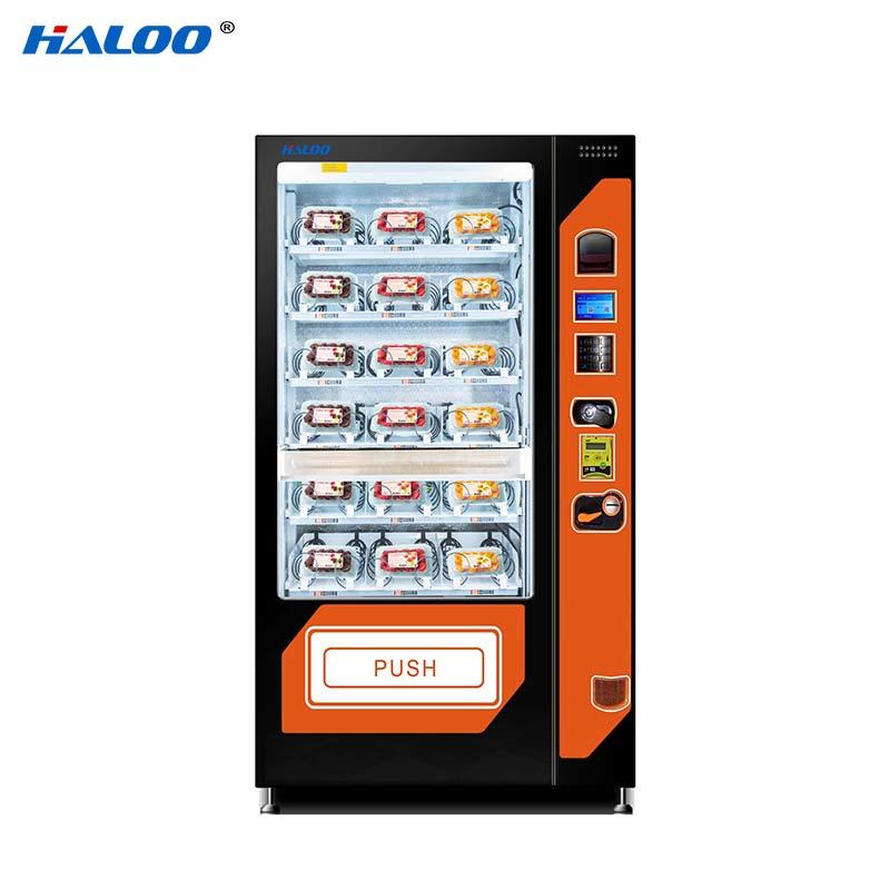 HL-SLE-10A  cooling fruit vegetable milk automatic vending machine