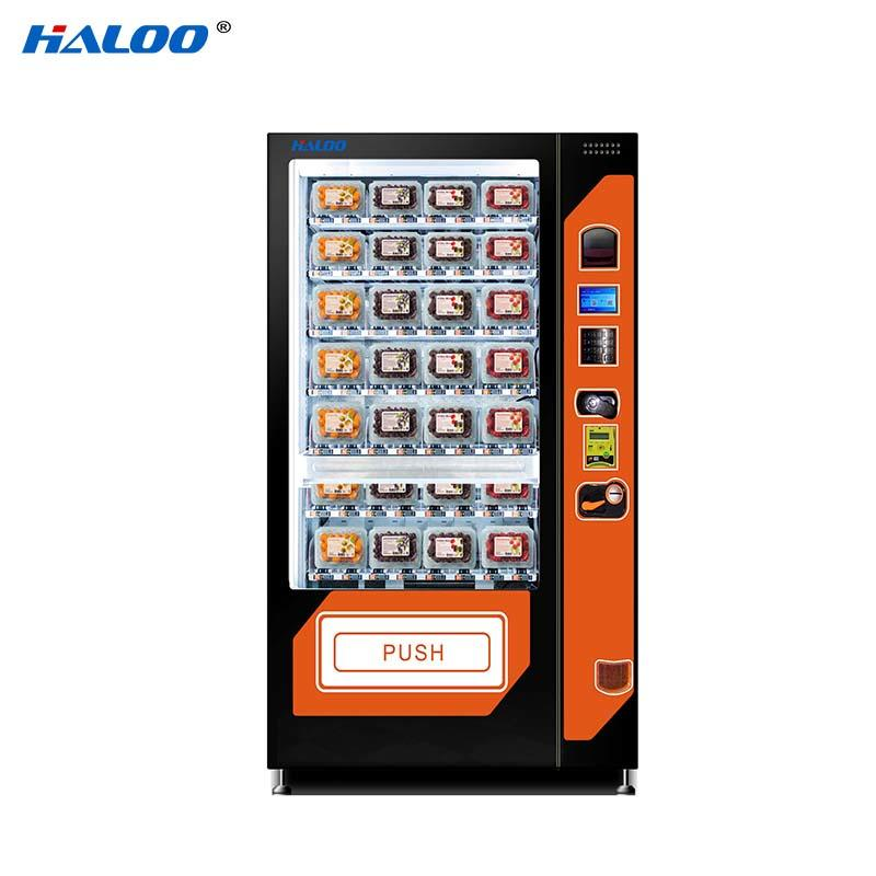 HL-SLE-10C  cooling fruit vegetable milk automatic vending machine