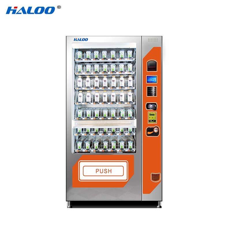 HL-SLE-10C  cooling fruit vegetable milk automatic vending machine