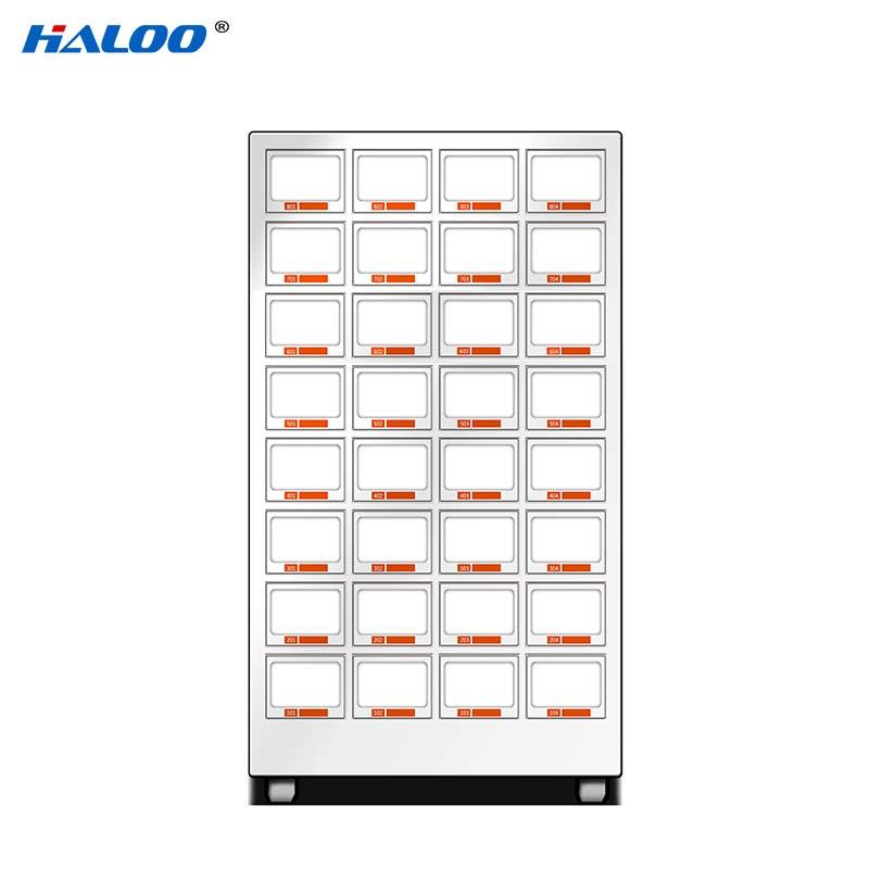 Haloo high quality candy vending machine supplier for drink