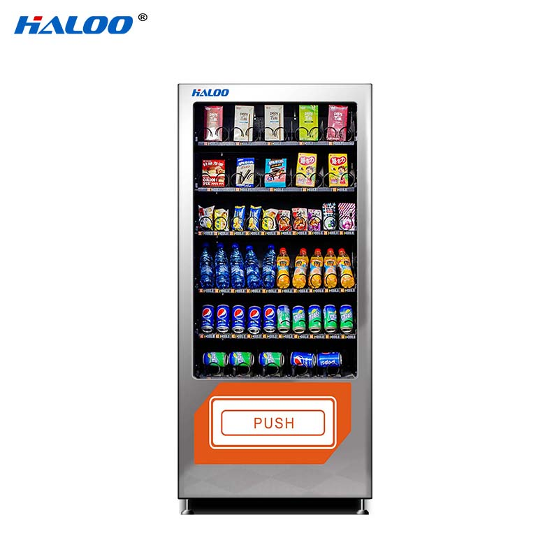 Haloo high quality candy vending machine design for snack-1