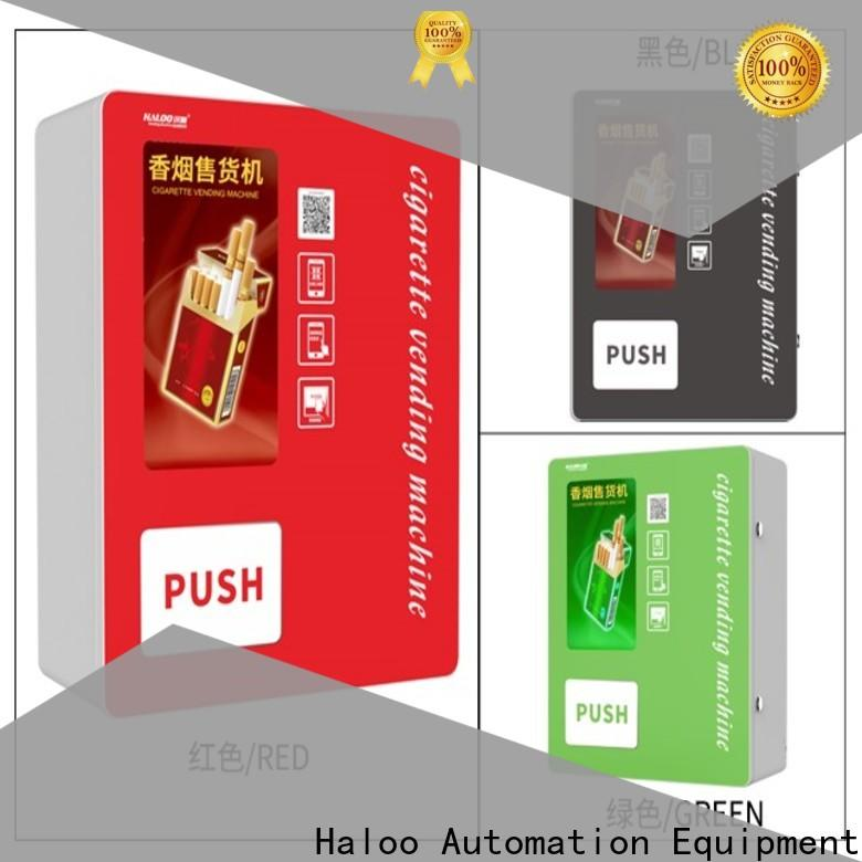 Haloo power-off protection vending kiosk customized for lucky box gift
