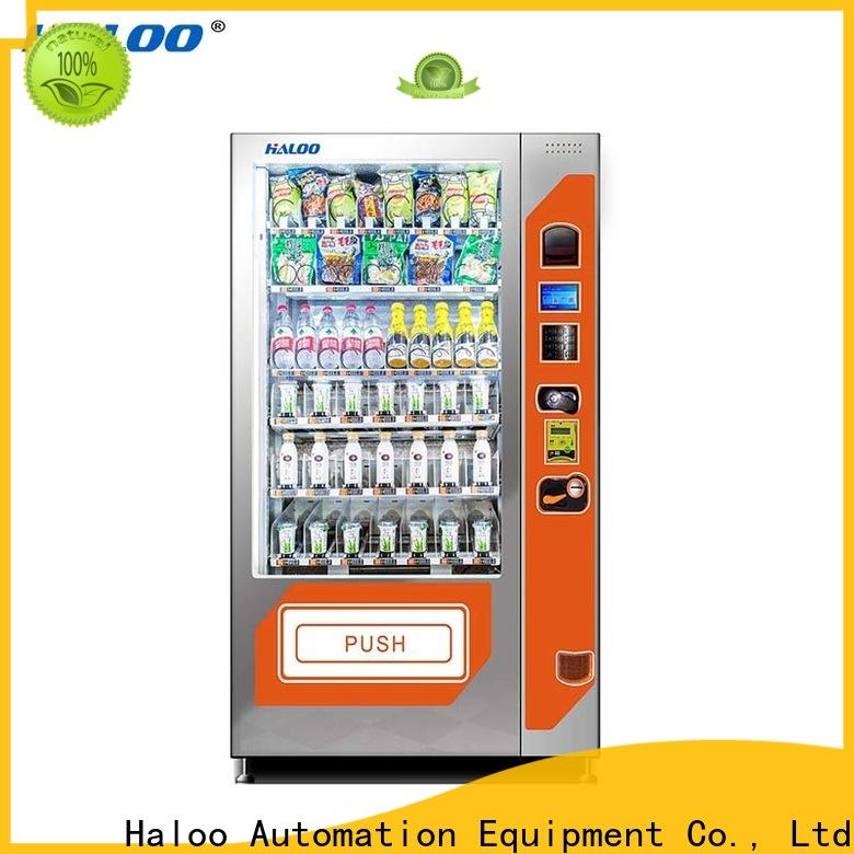 Haloo large capacity cool vending machines wholesale for red wine