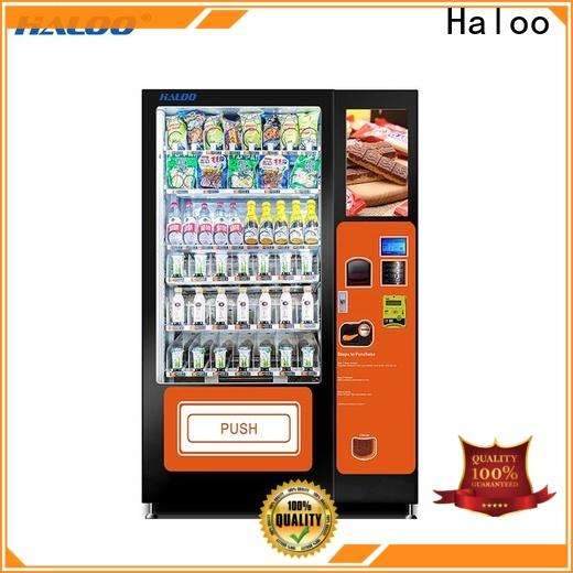 Haloo convenient canteen vending design for drinks