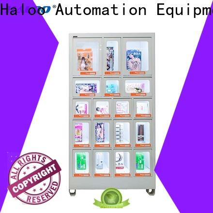 Haloo high capacity food vending machines manufacturer for drinks
