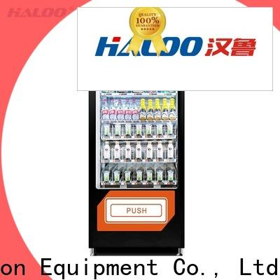Haloo high quality candy vending machine design for snack