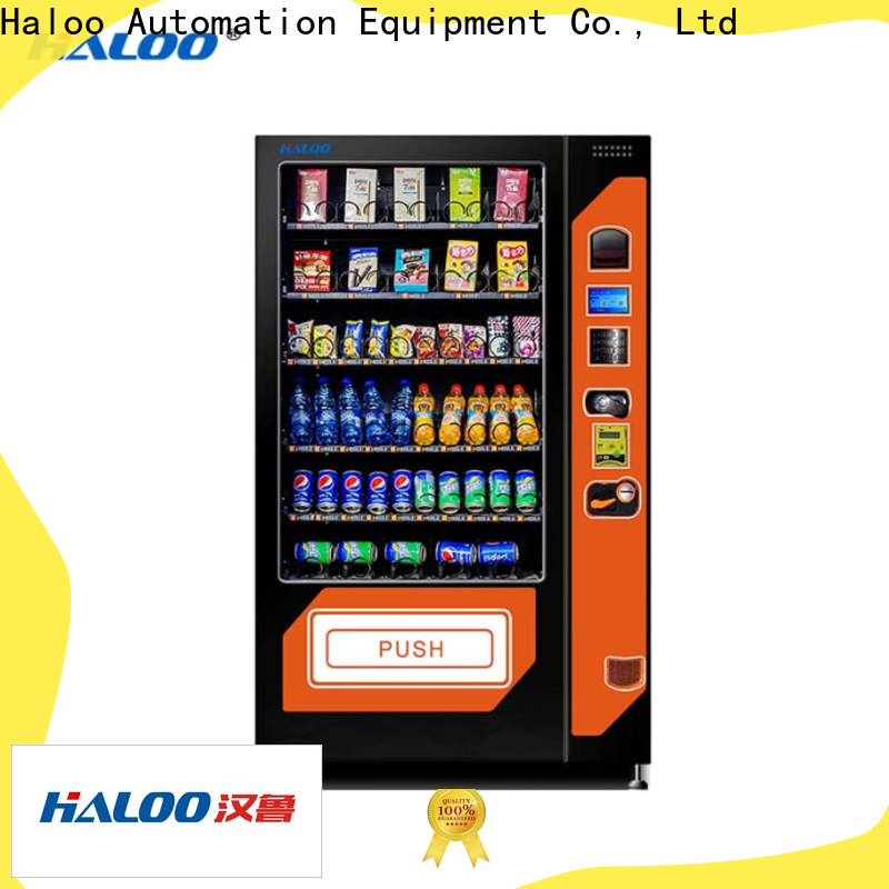 Haloo top chocolate vending machine customized for food