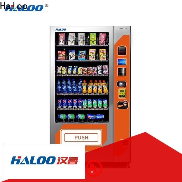 Haloo custom tea vending machine design for drink