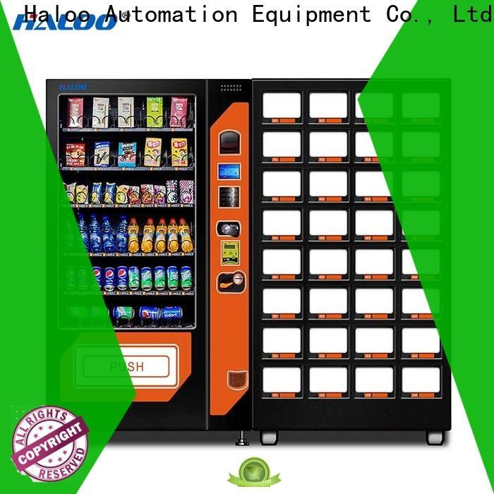 Haloo coffee vending machine with good price for food
