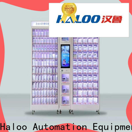 Haloo healthy vending machine snacks supplier for snack