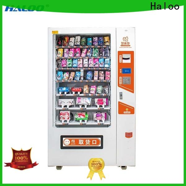 Haloo automatic condom machine wholesale for shopping mall