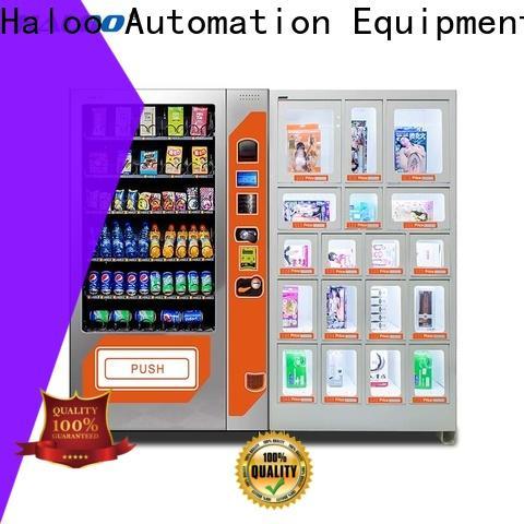 Haloo automatic condom vending machine directly sale for pleasure