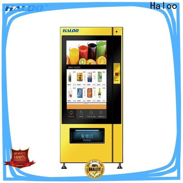 Haloo soda vending machine factory
