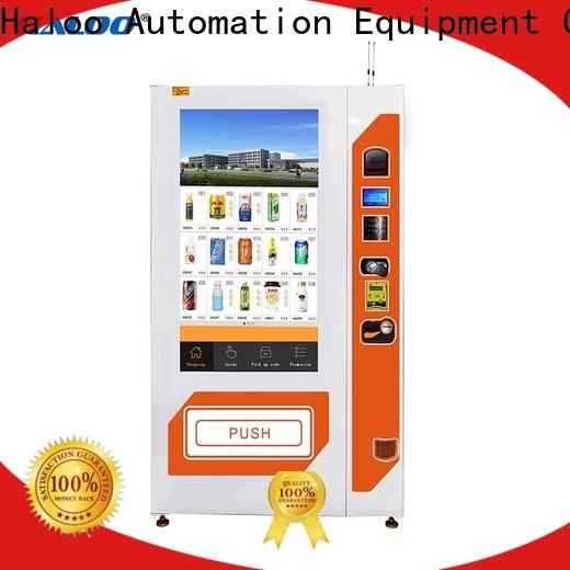 Haloo drink vending machine wholesale for shopping mall