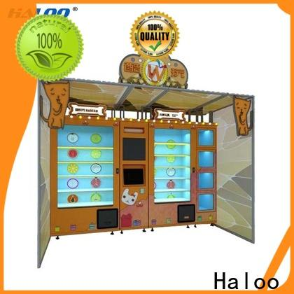 Haloo cigarette vending machine design for lucky box gift