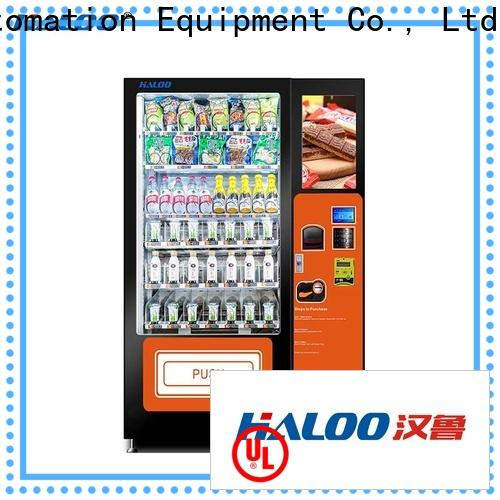Haloo canteen vending manufacturer for red wine