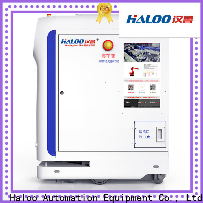 Haloo automatic lucky box vending machine manufacturer for purchase