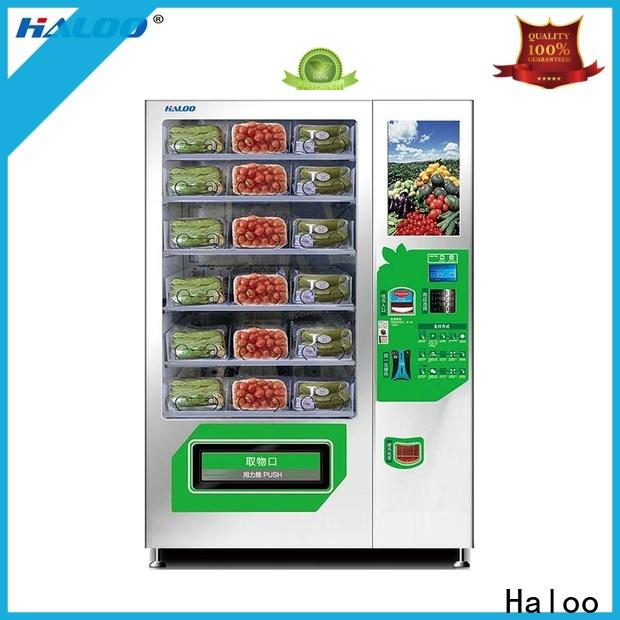 Haloo convenient water vending machine design for drinks