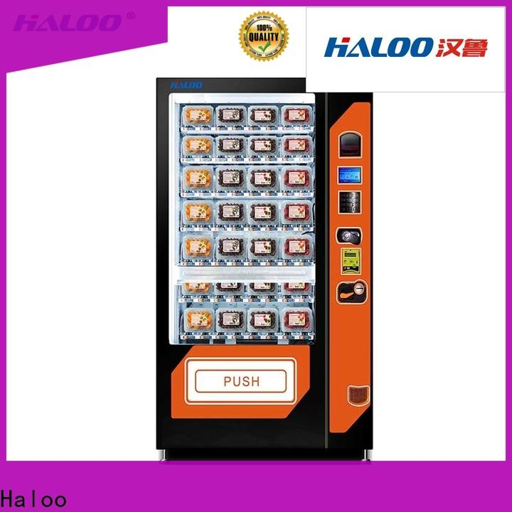 Haloo automatic canteen vending manufacturer for drinks