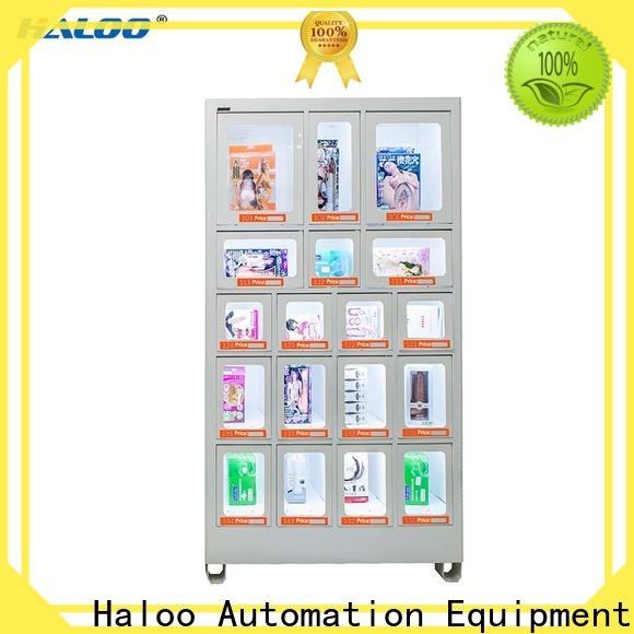 Haloo coke vending machinee supplier for snack