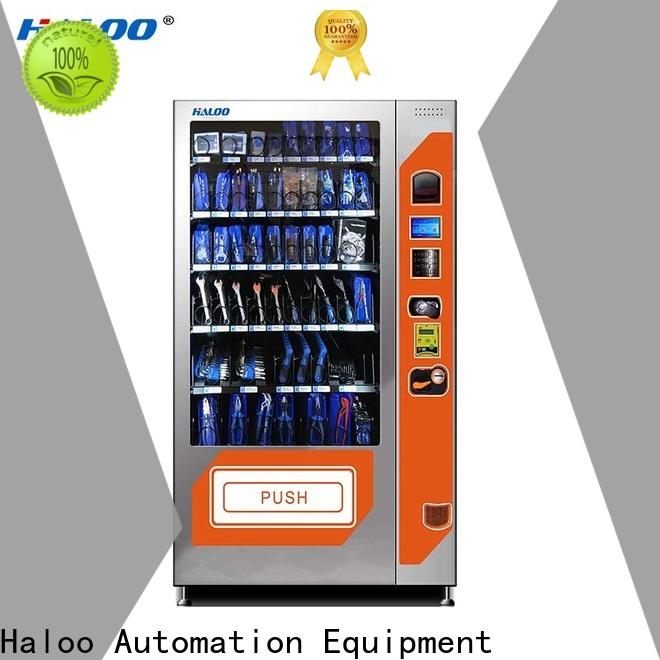 Haloo tea vending machine manufacturer for food