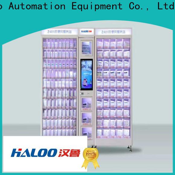 Haloo convenient coke vending machinee design for adult toys