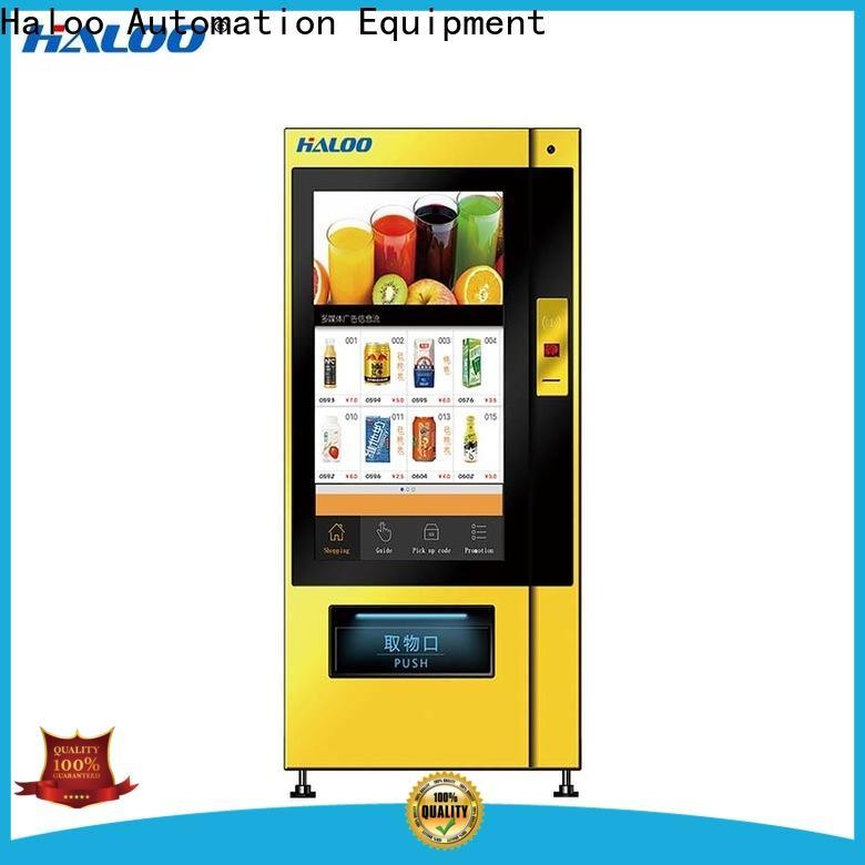 Haloo convenient medicine vending machine factory for merchandise