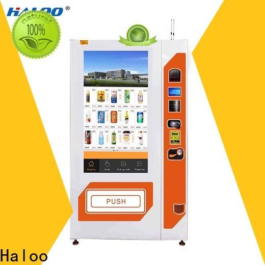 Haloo soda vending machine wholesale for shopping mall